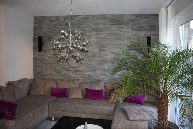 design : steinwand wohnzimmer grau ~ inspirierende bilder von ...